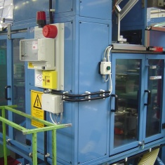 Fire protection of CNC machine